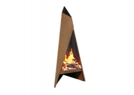 Garden fireplaces and grills